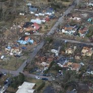 Tornado Damage in Hattiesburg, MS